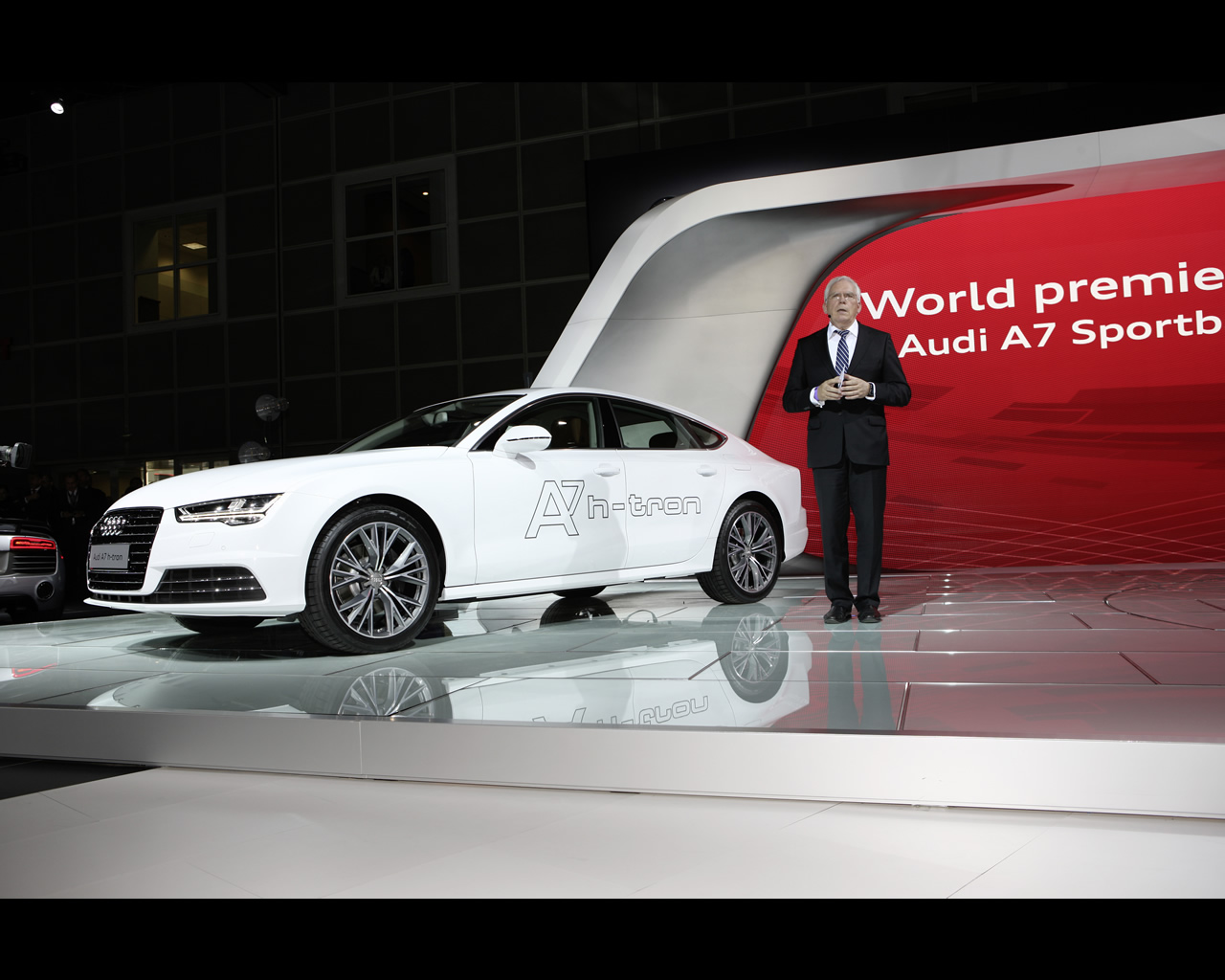 Audi A7 Sportback H-tron Quattro Hydrogen Fuel Cell
