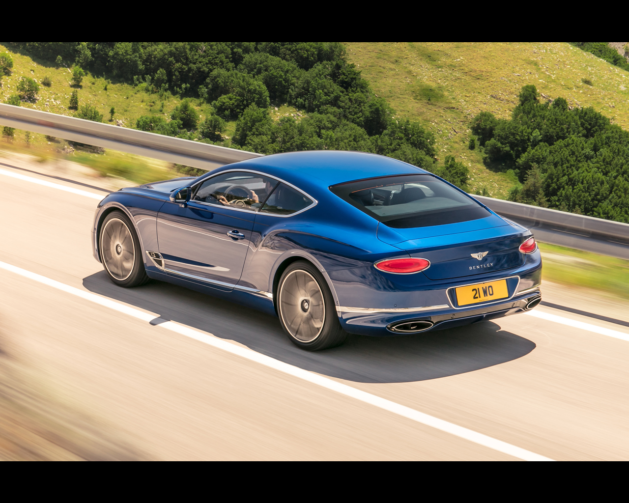 The Lighting On The Continental GT Uses The Latest LED Matrix Technology,  But It Is ...