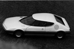 Bertone NSU TRAPEZE four seats mid engine prototype 1973