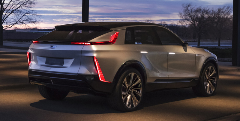 Cadillac Lyriq All-Electric Show Car 2020