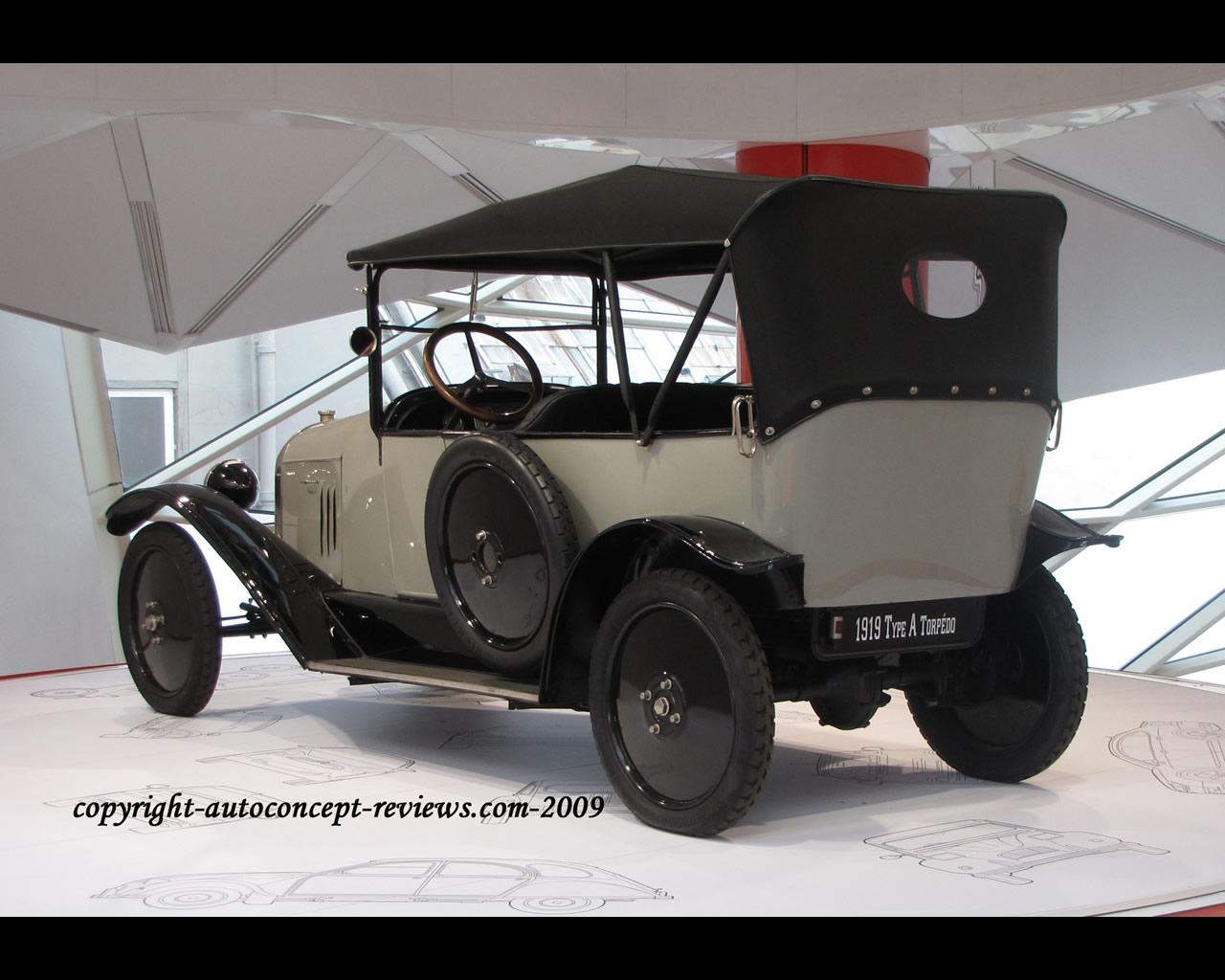citro n type a torpedo 1919. Black Bedroom Furniture Sets. Home Design Ideas