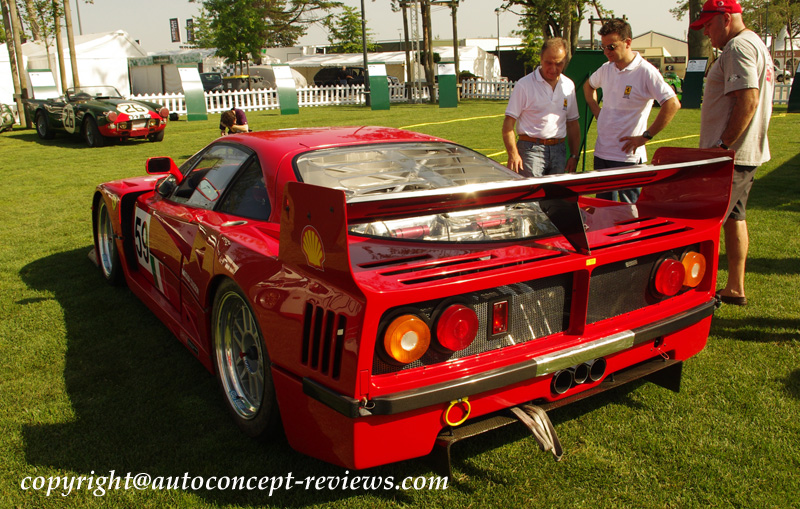 FERRARI F40 and Competition F40 GTE and F40 LM 1987 ,1992