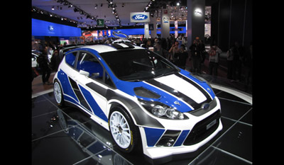 Ford Fiesta RS World Rally Car 2011 1