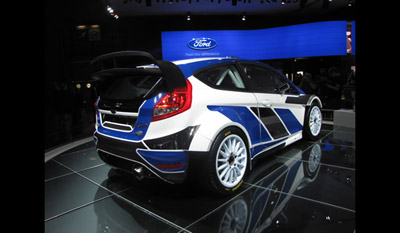 Ford Fiesta RS World Rally Car 2011 2