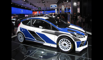 Ford Fiesta RS World Rally Car 2011 3