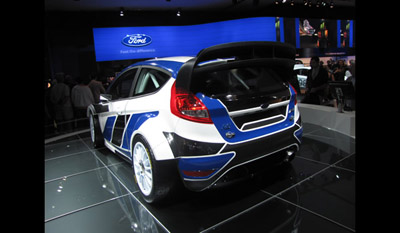Ford Fiesta RS World Rally Car 2011 4