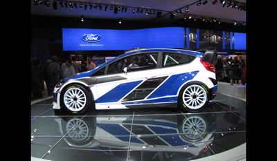 Ford Fiesta RS World Rally Car 2011