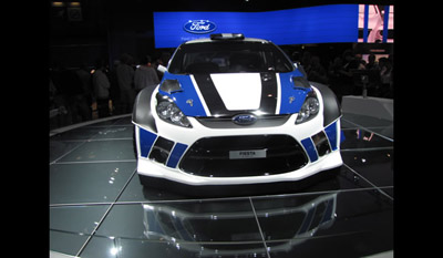 Ford Fiesta RS World Rally Car 2011 6