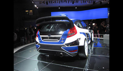 Ford Fiesta RS World Rally Car 2011 7