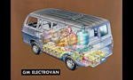 General Motors ELECTROVAN 1966 first ever fuel cell vehicle and the battery electric ELECTROVAIR II