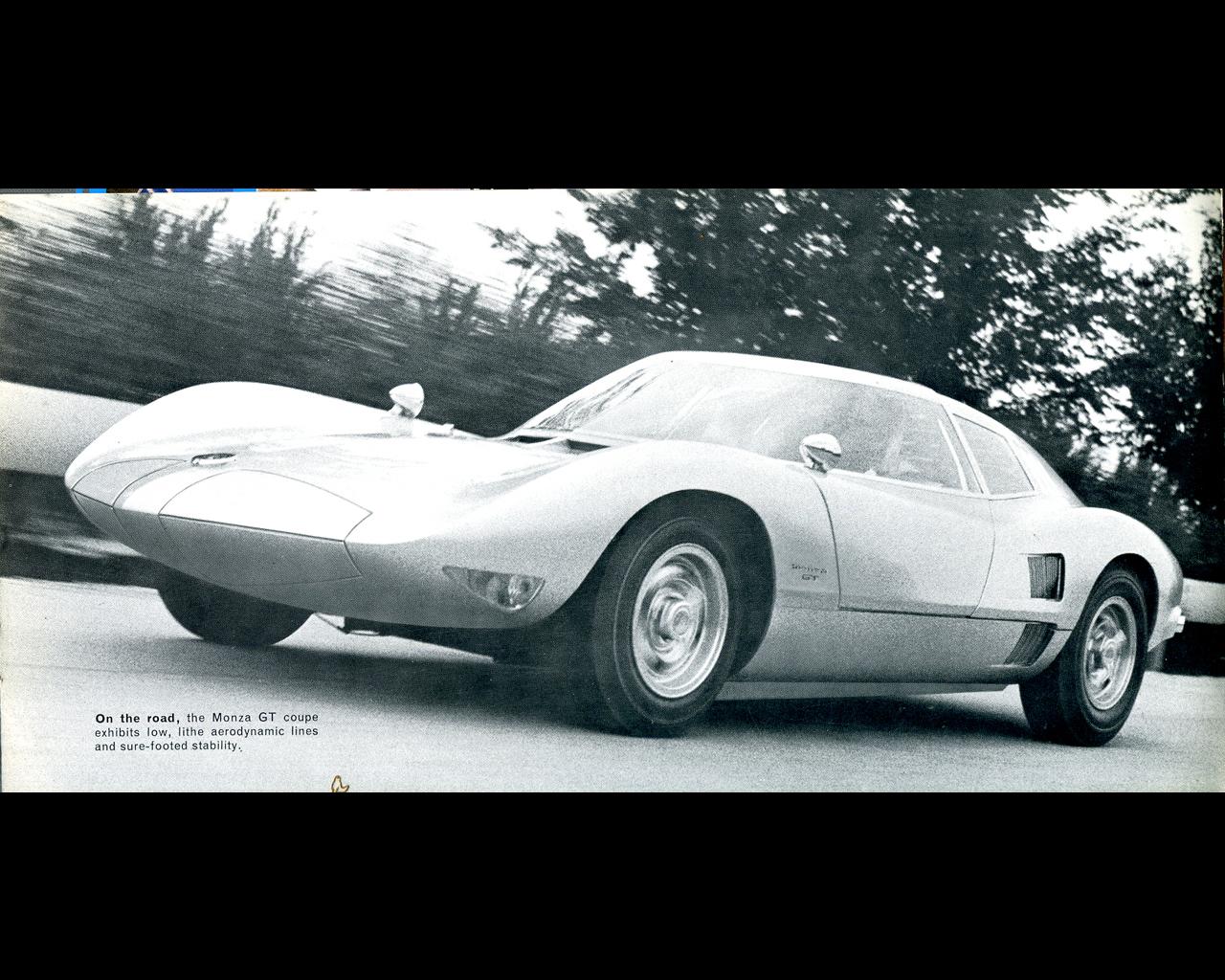 General Motors Chevrolet Experimental Corvair Monza Gt