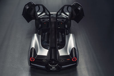 Gordon Murray Automotive T50 Limited Edition Supercar for 2022