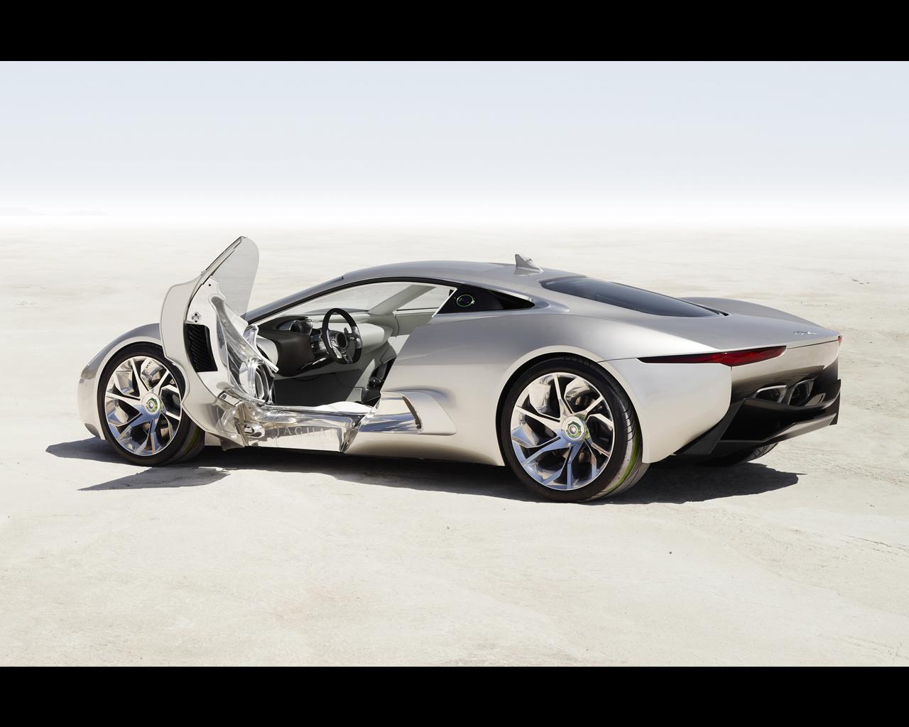 Merveilleux Jaguar C X75 Concept 2010   Plug In Electric Car With Gas Turbines  Propelled Range Extender.