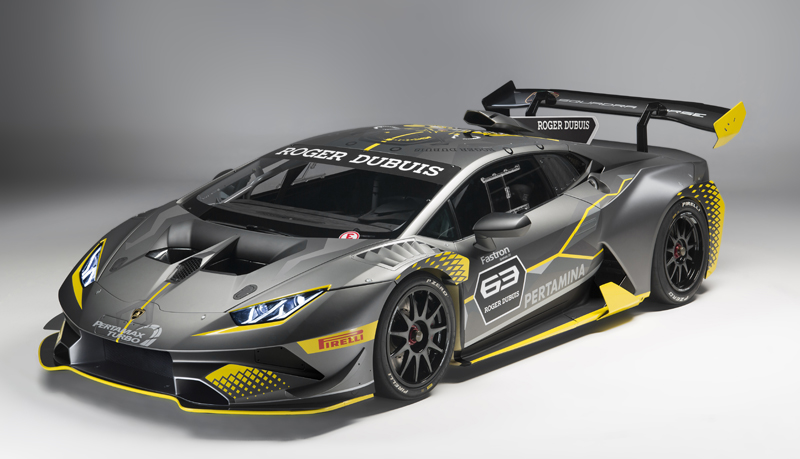 lamborghini huracan super trofeo evo 2018. Black Bedroom Furniture Sets. Home Design Ideas