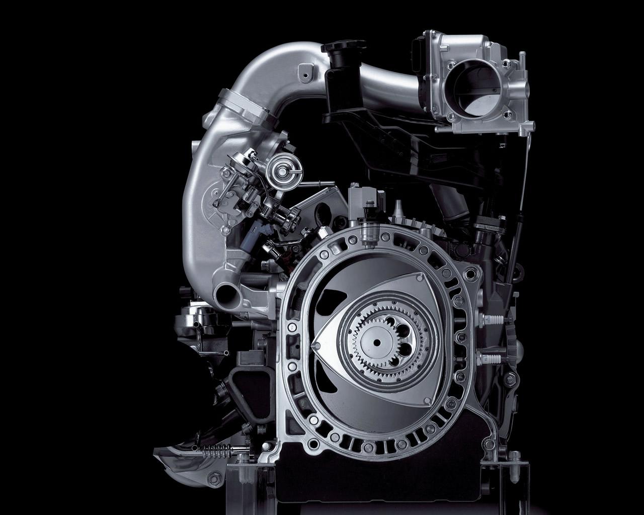 MAZDA RX-8 Hydrogen Rotary Engine 2003 2009