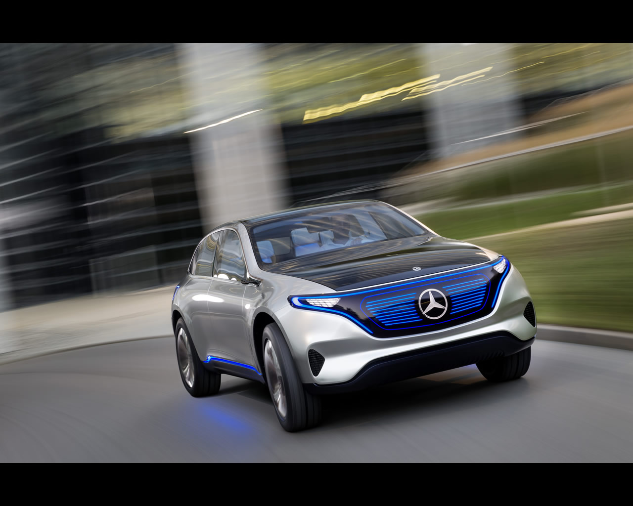 Mercedes benz eq pure electric suv coup concept 2016 for Mercedes benz new car prices