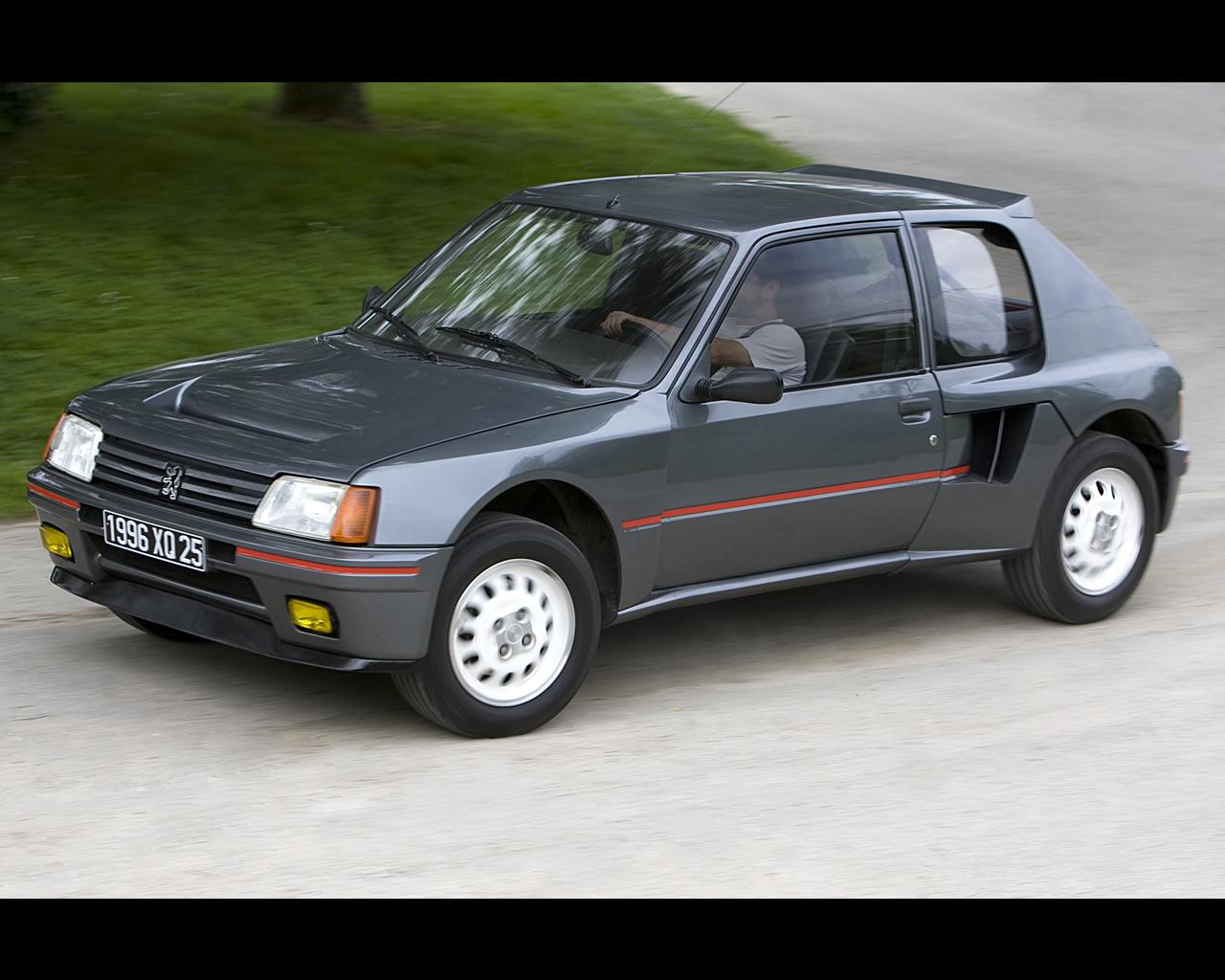 peugeot 205 turbo 16 world rally champion 1985 1986 paris dakar winner 1987 1988 2nd. Black Bedroom Furniture Sets. Home Design Ideas