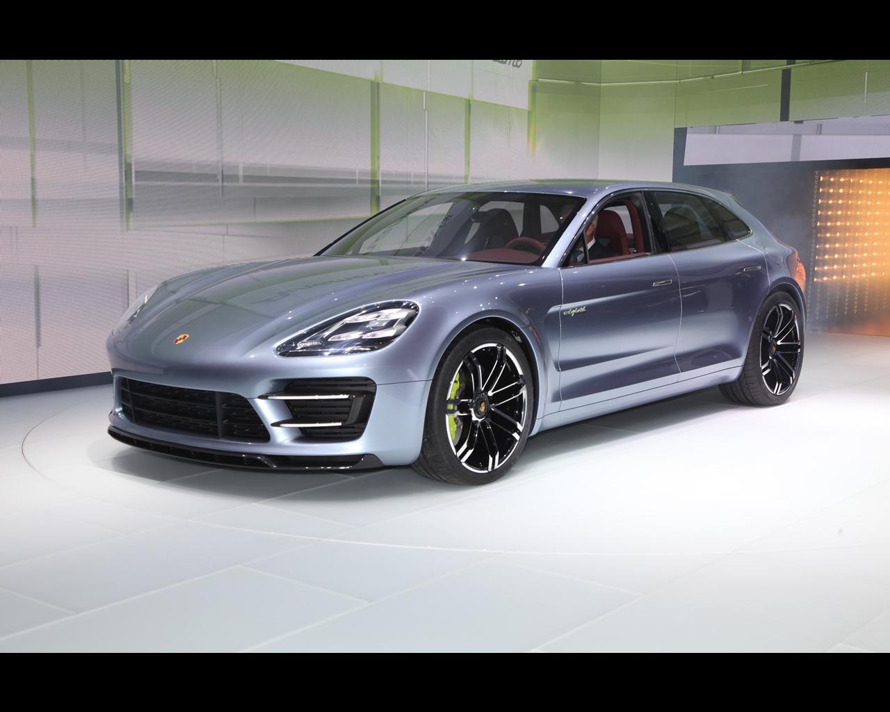 Porsche Panamera Sport Turismo Plug In Hybrid Concept 2012