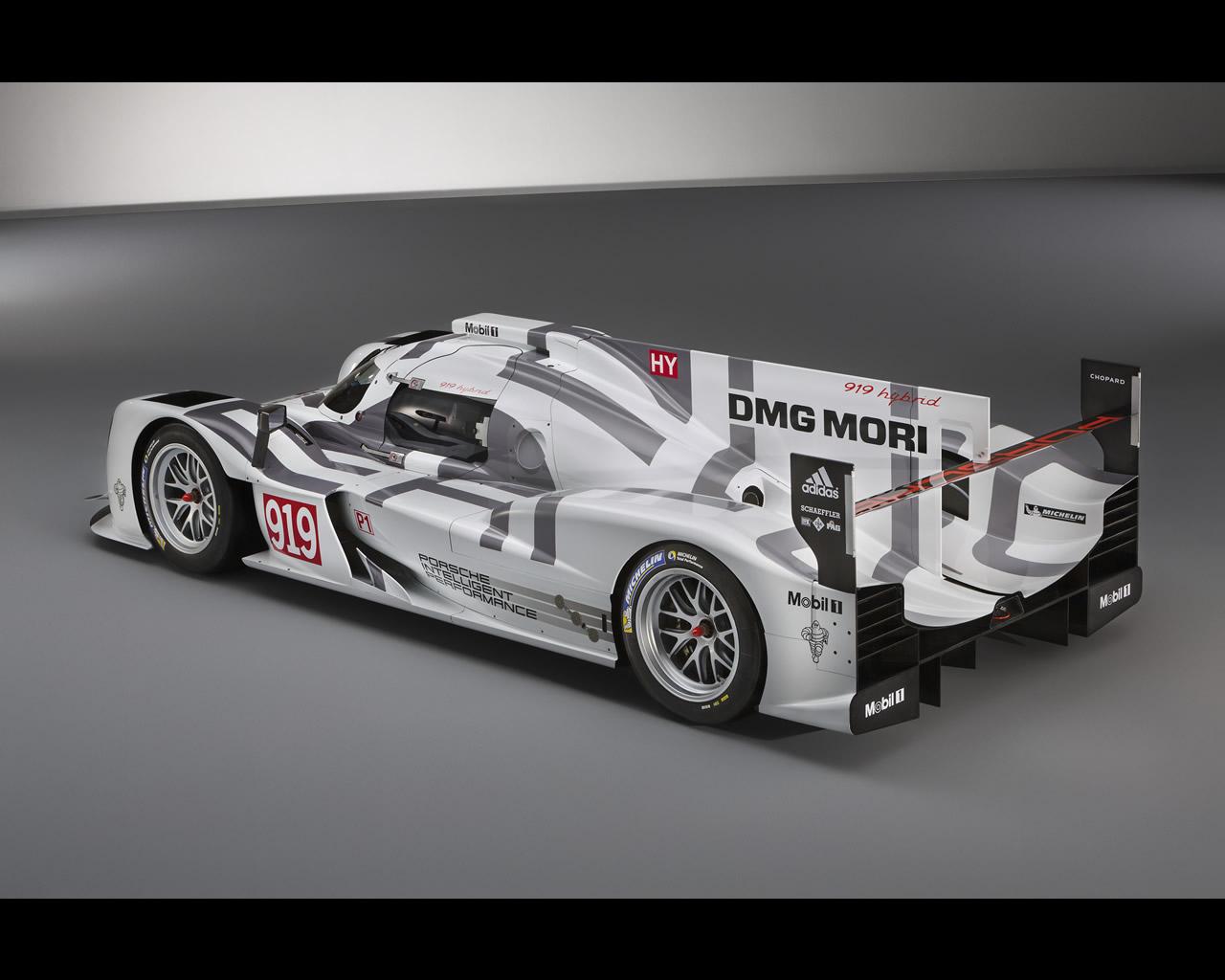 Porsche 919 hybrid lmp1 h wec le mans 2014