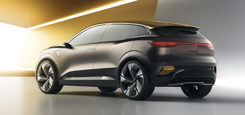 Renault Megane eVision All Electric Concept 2020