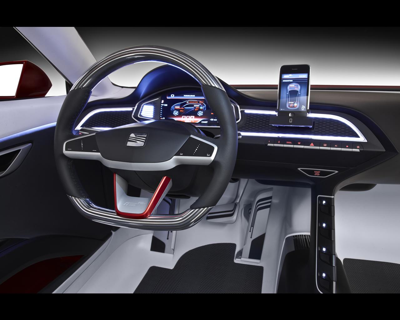seat ibe concept paris 2010 sports coup zero emissions. Black Bedroom Furniture Sets. Home Design Ideas
