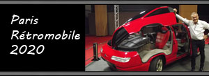 Paris - Rétromobile Historic and Classic Cars Show 2020